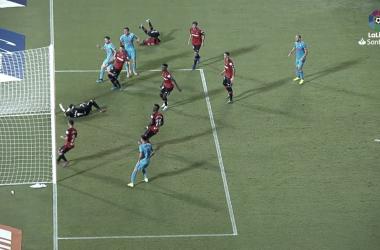 Paulo Oliveira pone las tablas en Sont Moix en la ajustada victoria del RCD Mallorca / FOTO: LaLiga