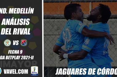 Independiente Medellín, análisis del rival: Jaguares de Córdoba (Fecha 9, Liga 2021-II)
