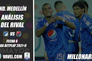 Independiente Medellín, análisis del rival: Millonarios (Fecha 6, Liga 2021-II)