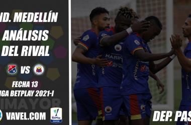 Independiente Medellín, análisis del rival: Deportivo Pasto (Fecha 13, Liga BetPlay 2021-I)