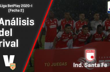 Envigado F.C., análisis del rival: Independiente Santa Fe