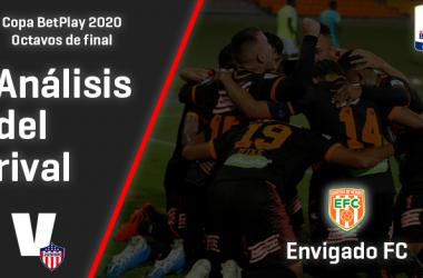 Junior de Barranquilla, análisis del rival: Envigado FC (Octavos de final, Copa 2020)