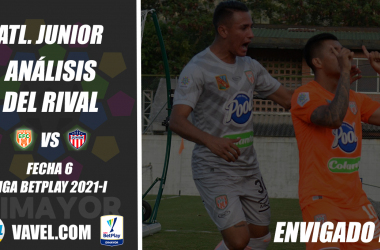 Junior, análisis del rival: Envigado (Fecha 6, Liga BetPlay Dimayor 2021-I)