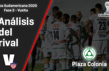 Junior de Barranquilla, análisis del rival: Plaza Colonia (Fase 2 - vuelta, Sudamericana 2020)