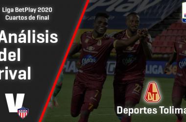 Junior, análisis del rival: Deportes Tolima (Cuartos de final, Liga 2020)