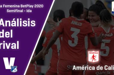 Millonarios, análisis del rival: América de Cali (Semifinal - ida, Liga Femenina 2020)