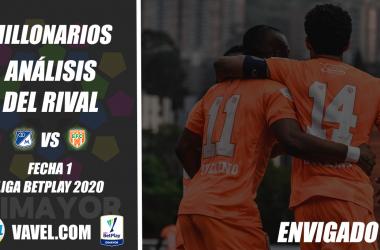 Millonarios, análisis del rival: Envigado FC (Fecha 1, Liga 2021-I)