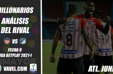 Millonarios, análisis del rival: Junior (Fecha 9, Liga 2021-I)