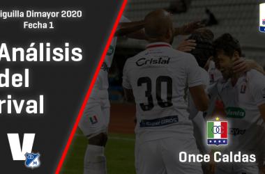 Millonarios, análisis del rival: Once Caldas (Fecha 1, Liguilla Dimayor)