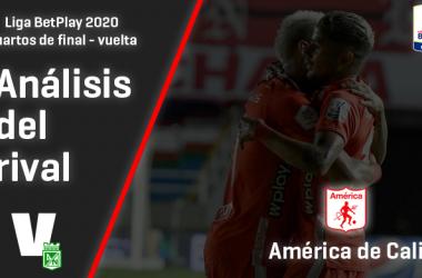 Atlético Nacional, análisis del rival: América de Cali (Cuartos de final - Vuelta, Liga 2020)