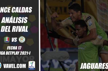 Once Caldas, análisis del rival: Jaguares (Fecha 17, Liga 2021-I)