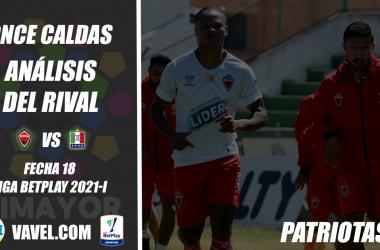 Once Caldas, análisis del rival: Patriotas Boyacá (Fecha 18, Liga I 2021)