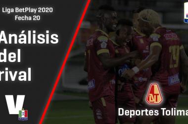 Once Caldas, análisis del rival: Deportes Tolima (Fecha 20, Liga 2020)