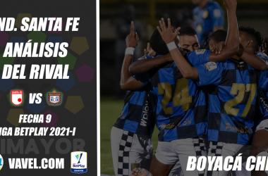 Independiente Santa Fe, análisis del rival: Boyacá Chicó (Fecha 9, Liga 2021-I)