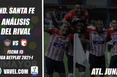 Independiente Santa Fe, análisis del rival: Junior de Barranquilla (Fecha 15, Liga 2021-I)