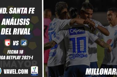 Independiente Santa Fe, análisis del rival: Millonarios (Fecha 18, Liga 2021-I)