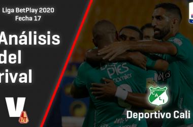 Deportes Tolima, análisis del rival: Deportivo Cali (Fecha 17, Liga 2020)
