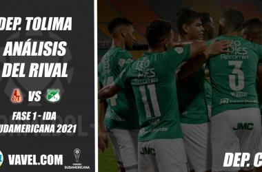 Deportes Tolima, análisis del rival: Deportivo Cali (Fase 1 - ida, Sudamericana 2021)