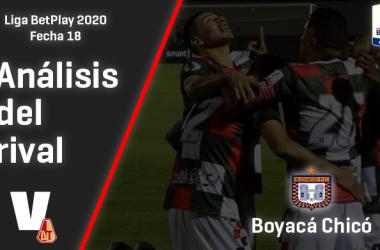Deportes Tolima, análisis del rival: Boyacá Chicó (Fecha 18, Liga 2020)