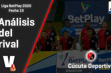 Deportes Tolima, análisis del rival: Cúcuta Deportivo (Fecha 13, Liga 2020)