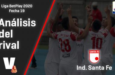 Deportes Tolima, análisis del rival: Independiente Santa Fe (Fecha 19, Liga 2020)