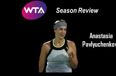 Anastasia Pavlyuchenkova experienced a dismaying season | Edit: Don Han