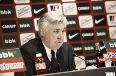 """Carlo Ancelotti analisa classificação do Real Madrid: """"Estamos merecidamente na final"""""""