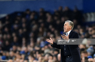 Our goal is to finish strong and qualify for Europe, says Everton boss Carlo Ancelotti