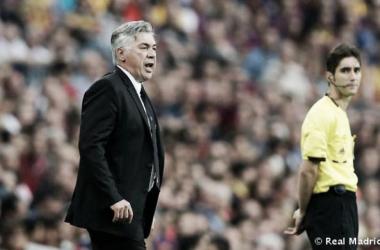 """Ancelotti: """"El penalti lo ha visto todo el mundo menos el árbitro"""""""