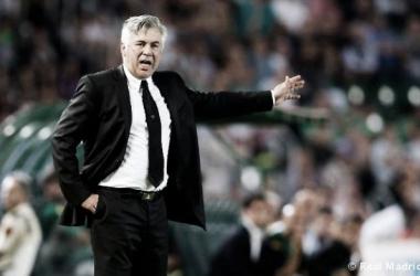 """Ancelotti: """"Jugando así no ganamos el derbi"""""""