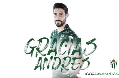 Andrés González es la segunda baja del CD Guijuelo en el mercado de invierno