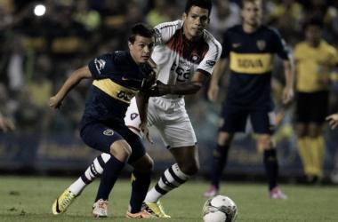 El patrón del mediocampo. Cubas la gran promesa del 'Xeneize'. Foto: Fútbol Argentino.