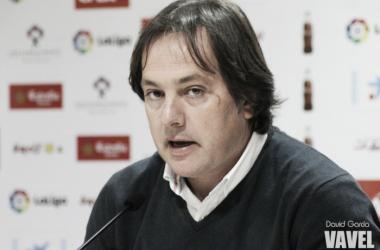 Andrés Fernández, este jueves en sala de prensa. (FOTO: David García - VAVEL)