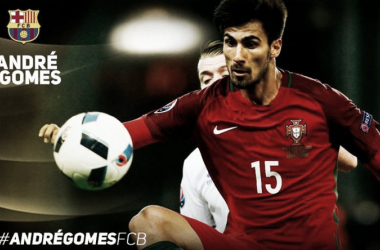 André Gomes joins FC Barcelona