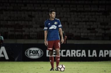 Andrés Maldonado jugará en la primera división de Uruguay. Fotografía: Prensa Atlético Venezuela.