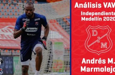 Análisis VAVEL, Independiente Medellín 2020: Andrés Mosquera Marmolejo