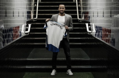 Andros Townsend completes his £12m switch to Newcastle United