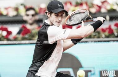 Andy Murray durante la pasada edición del Masters 1000 de Madrid. Foto: Rodrigo Jiménez Torrellas - VAVEL