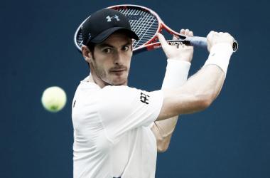 Andy Murray durante un partido en el pasado US Open. Foto: zimbio.com