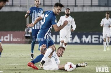 Castilla y Ponfe no pudieron pasar del empate.   Foto: Dani Nieto (VAVEL.com).