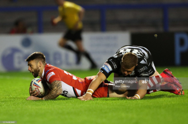 Super League: Hull FC 22 - 28 Salford Red Devils