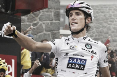 Andy Schleck dit stop