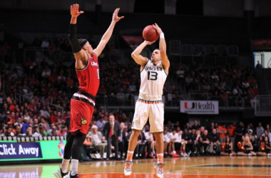 Miami Hurricanes Rally Past Louisville Cardinals, 73-65