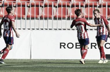 Ángela Sosa, la mejor del Atlético frente a la Real (Fuente: Atlético de Madrid)