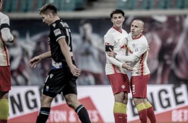 El RB Leipzig, como en casa en ningún sitio