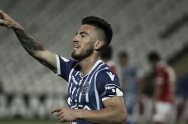 BUEN PRESENTE. González es uno de los jugadores que está teniendo un buen rendimiento con la camiseta Bodeguera. Foto: Web