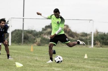 Angelo Peña sereportó a los entrenamientos del tricampeón nacional| Fotografía: Prensa Zamora FC
