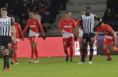 Stevan Jovetic (numéro 10) auteur de deux buts hier soir. Photo: Ouest France