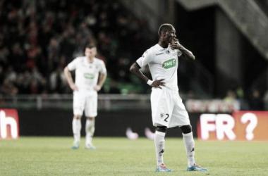 Stéphane Moulin, técnico do Angers, lamenta eliminação na Coupe de France