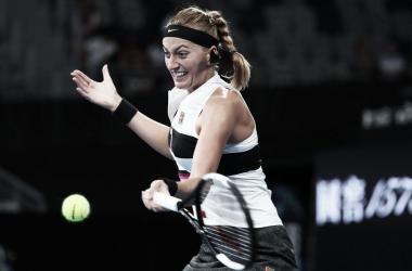 Kvitova soma sua oitava vitória seguida e alcança às oitavas do primeiro Slam do ano (Foto: Divulgação/WTA)